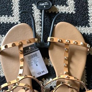 Brand new Rue21 sandals